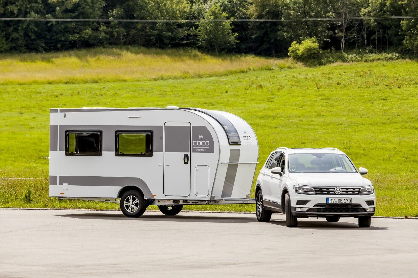 Small camping trailers have been growing in popularity, and the Dethleffs Coco would be a fun, stylish addition to the US market
