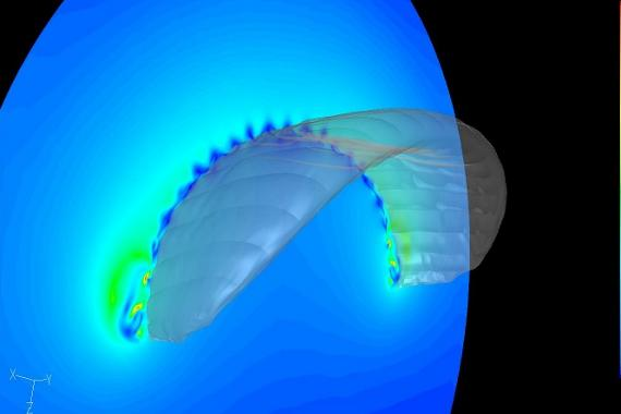 The Delft team does extensive simulations of a variety of kite-based systems as part of their research