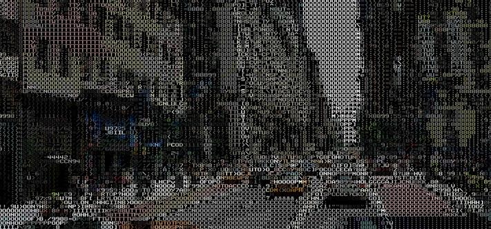 A web app was developed that turns Google Street View into ASCII in real time
