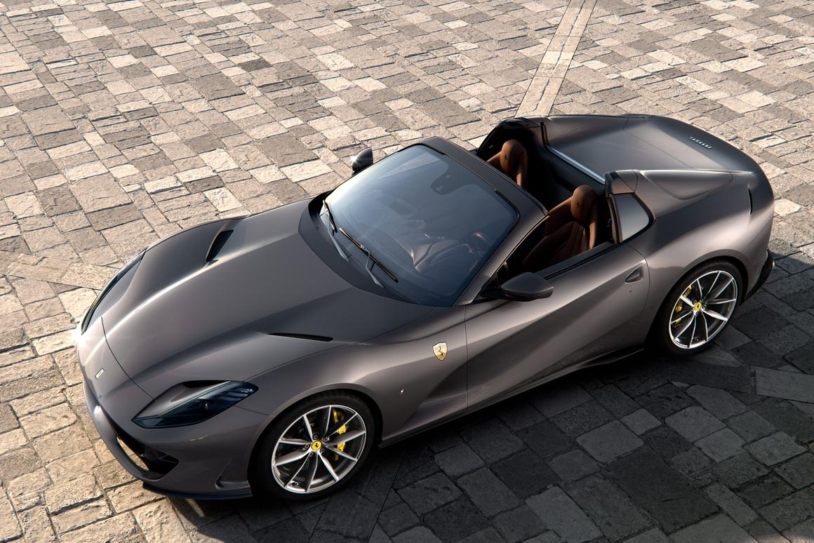 Peel back the roof of the 812 Superfast, and you've got yourself an 812 GTS convertible