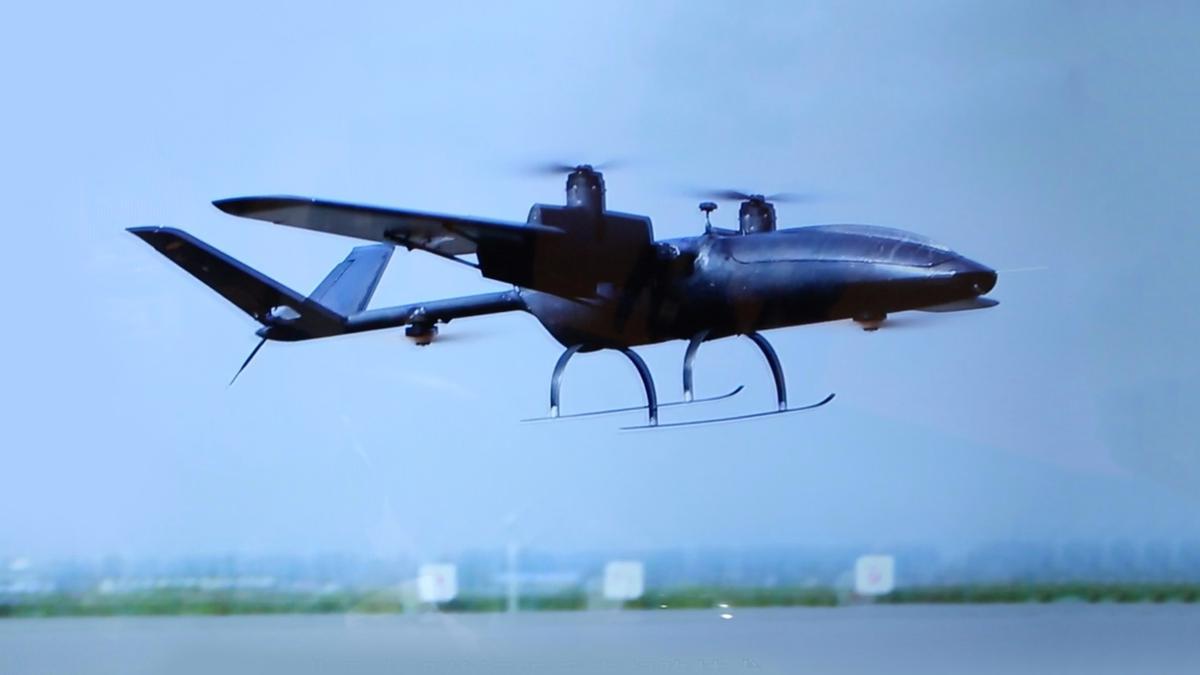 Unique Aero-Tech Corporation's tolt-rotor UAS