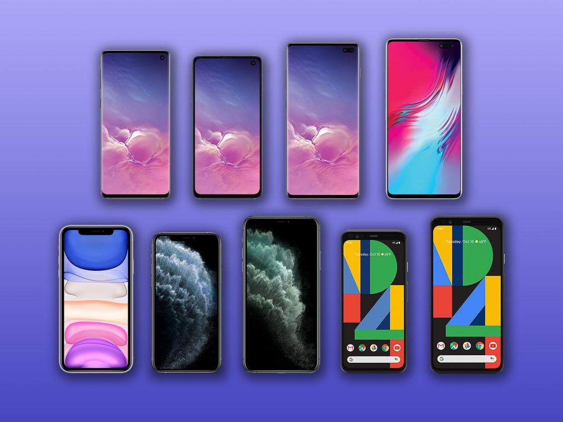 New Atlas compares the specs and features of 2019's flagship phones: the iPhone 11, 11 Pro and 11 Pro Max, the Google Pixel 4 and 4 XL, and Samsung Galaxy S10, S10e, S10+ and S10 5G