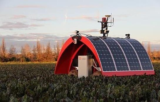 """""""Ladybird"""" is an autonomous farm robot capable of conducting mobile monitoring of a variety of different crops"""