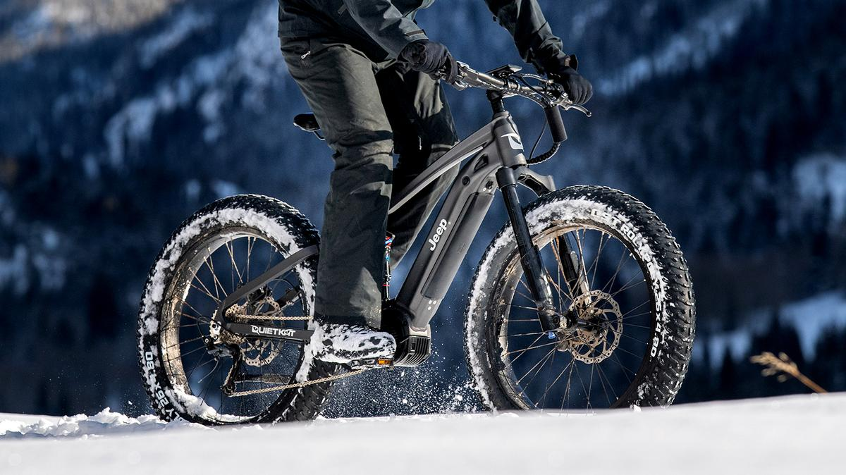 The Jeep e-bike powered by QuietKat is due for release in June, 2020