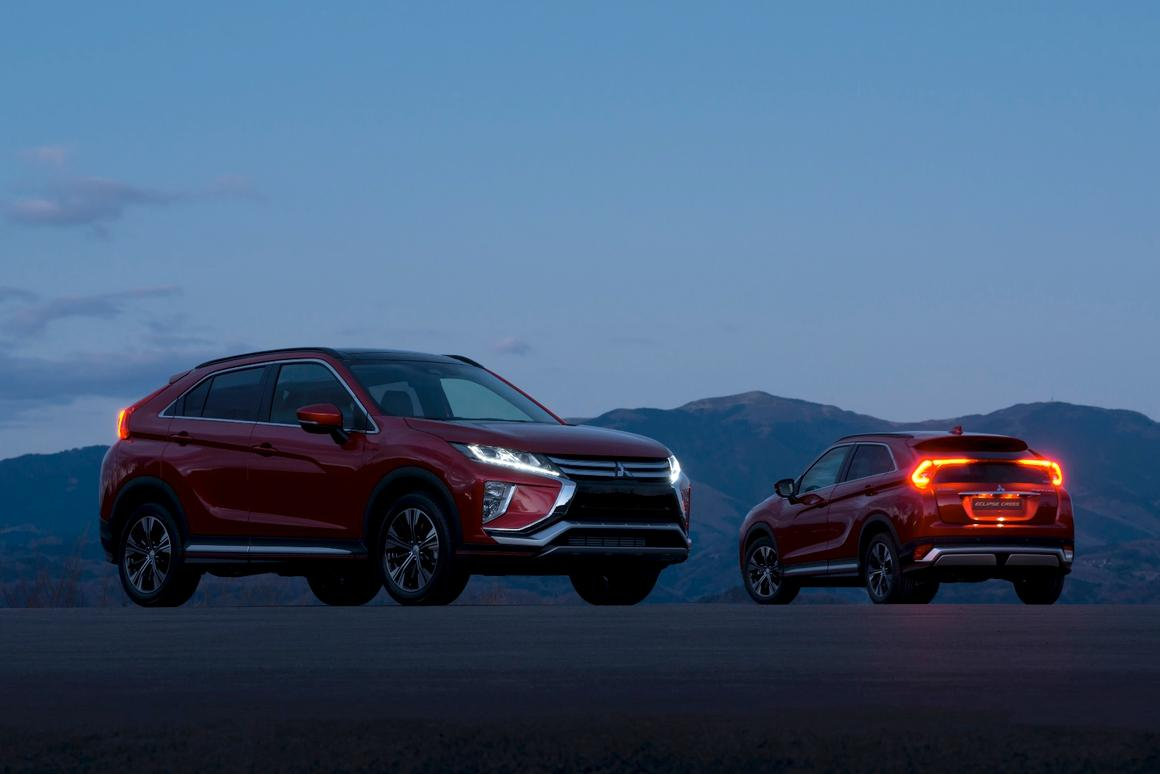 Mitsubishi will offer turbo and turbo-diesel engines in the Eclipse Cross