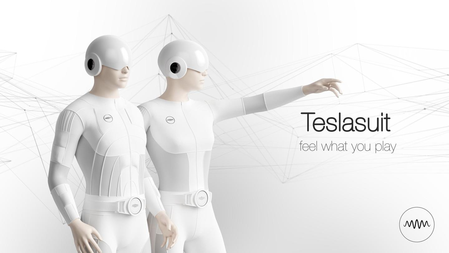 The Teslasuit is the world's first full-body haptic suit that lets you feel what you play