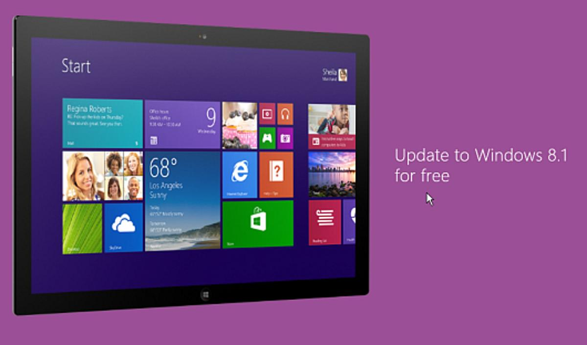 Here's how to update Windows 8 to the new Windows 8.1 via the Windows Store