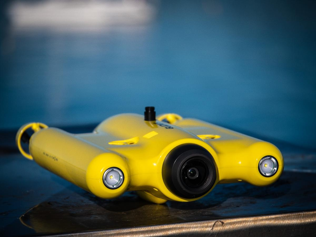 The Gladius Advanced Pro is one of a range of new underwater drones beginning to show up on the market