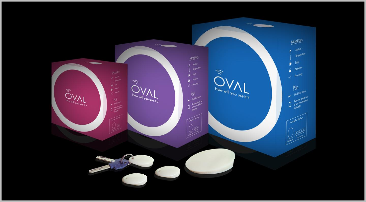 A look at the Oval in its retail packaging