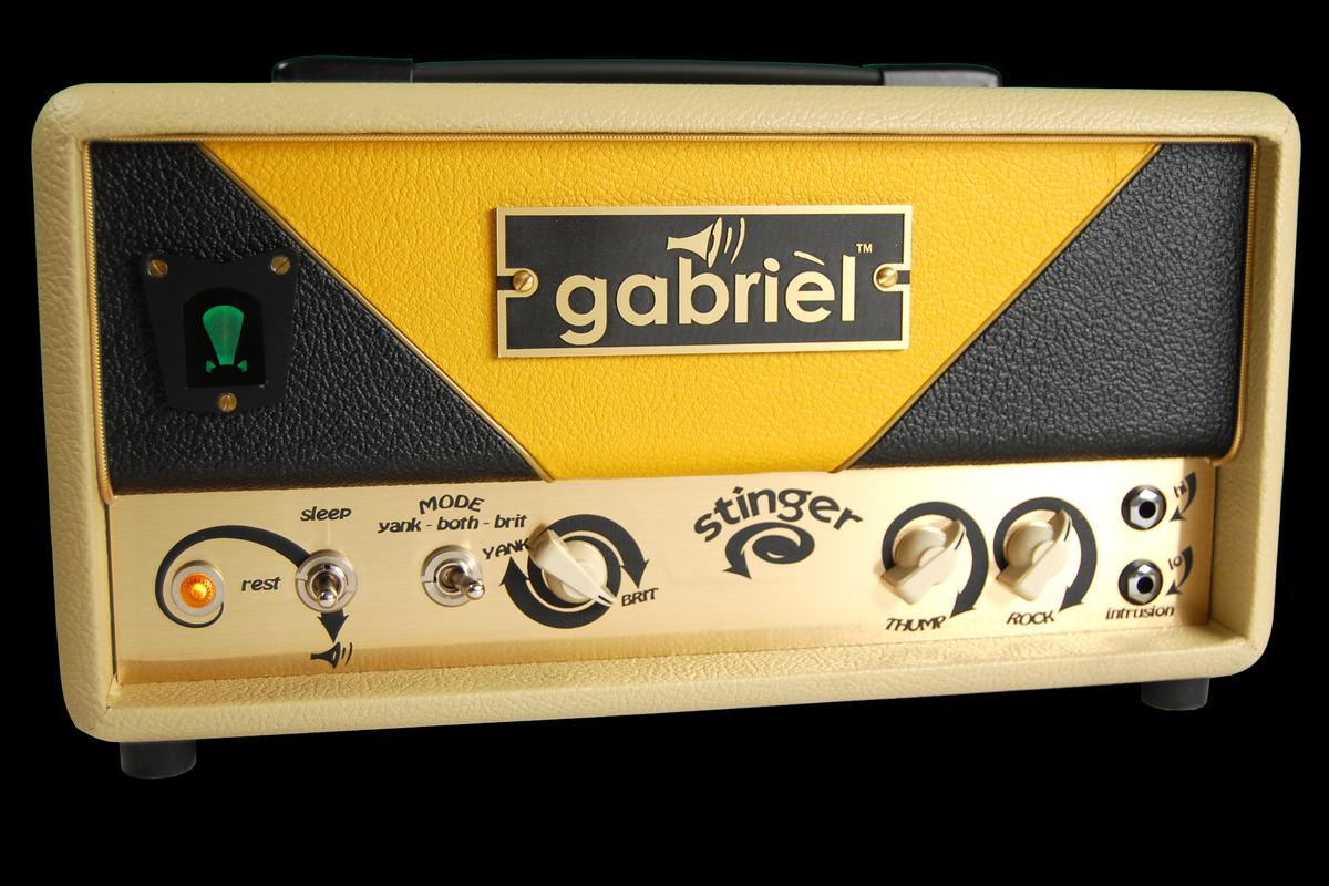 The latest boutique amp from the Gabriel Sound Garage is big on tone, but is quite the little baby: The 7 watt Gabriel Stinger