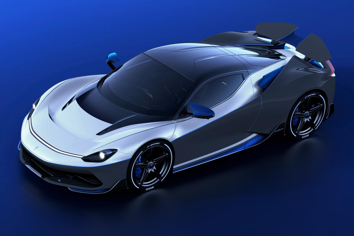 "According to Pininfarina, the Battista Anniversario will be ""the most powerful road-legal Italian car ever made"""