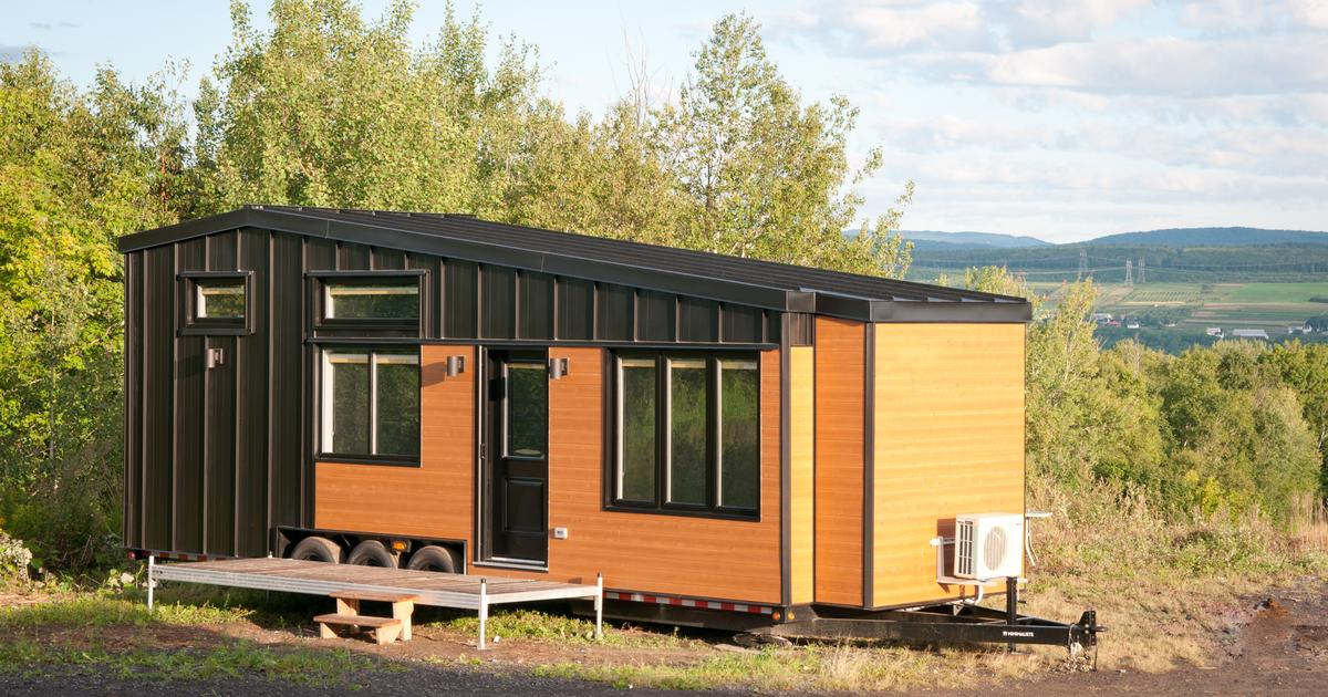 Hardy tiny house offers extra living space and a whole lot of storage