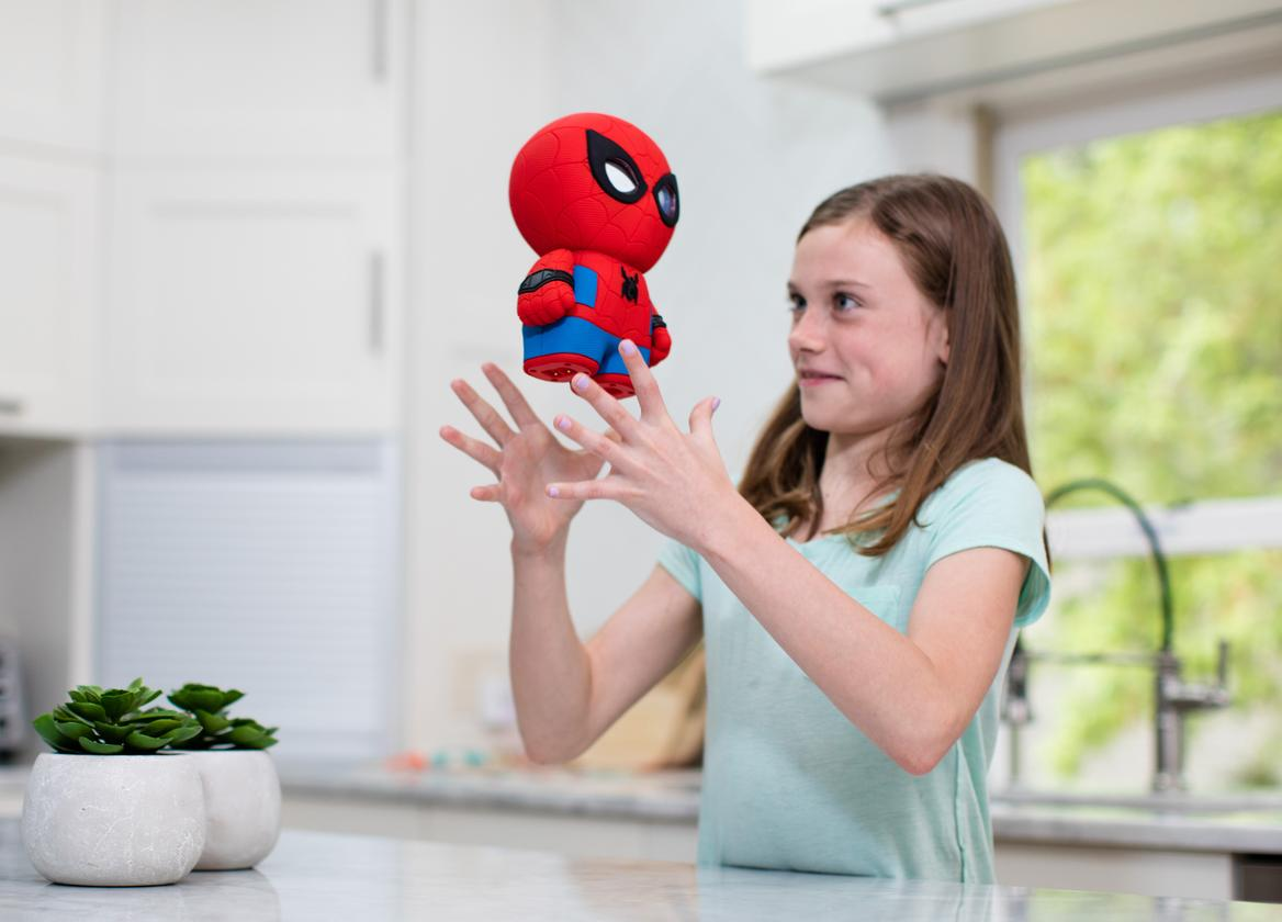 The Sphero Spider-Man toy has been designed to survive the odd knock or drop