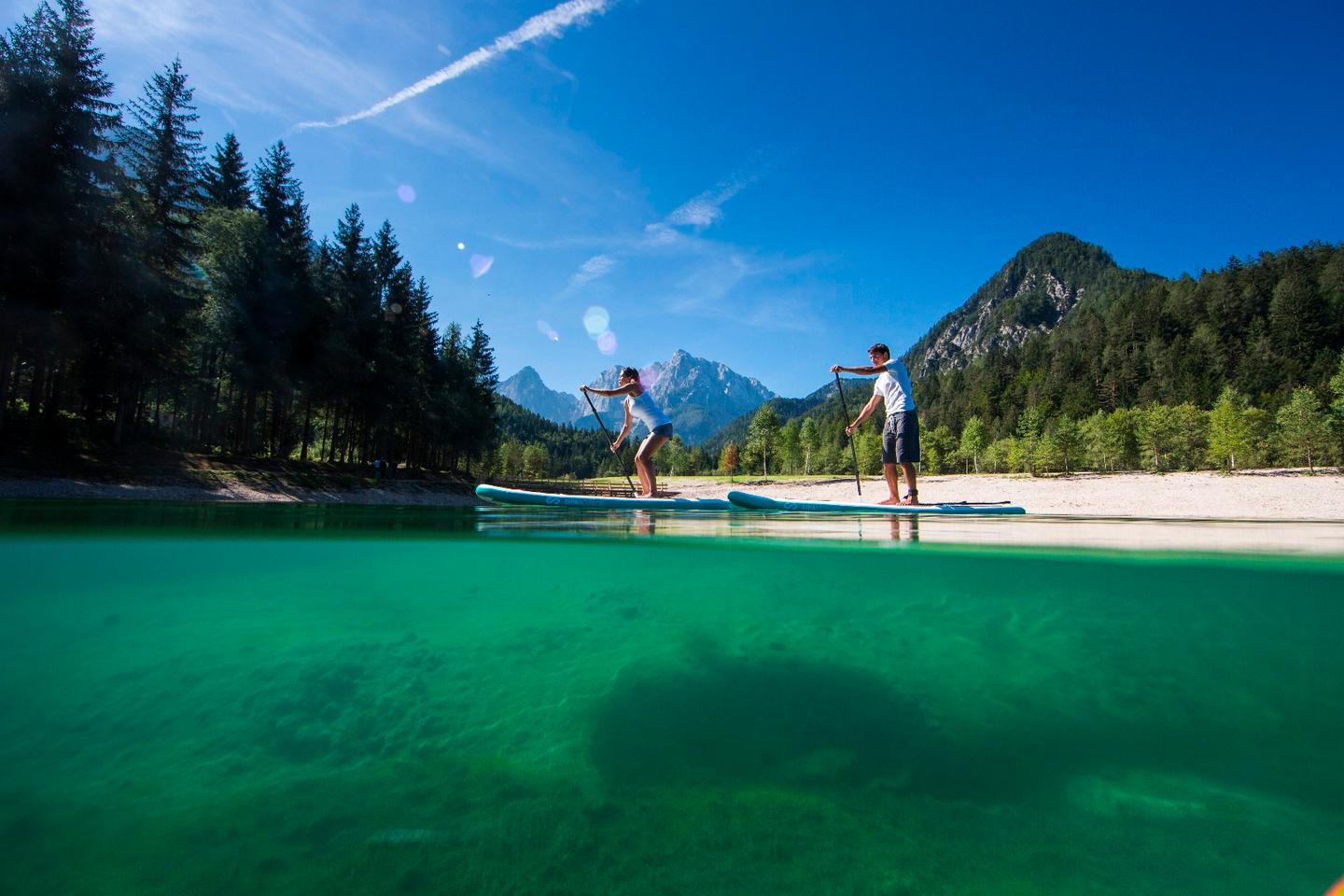 The SipaBoards Air is a self-inflating stand-up paddleboard