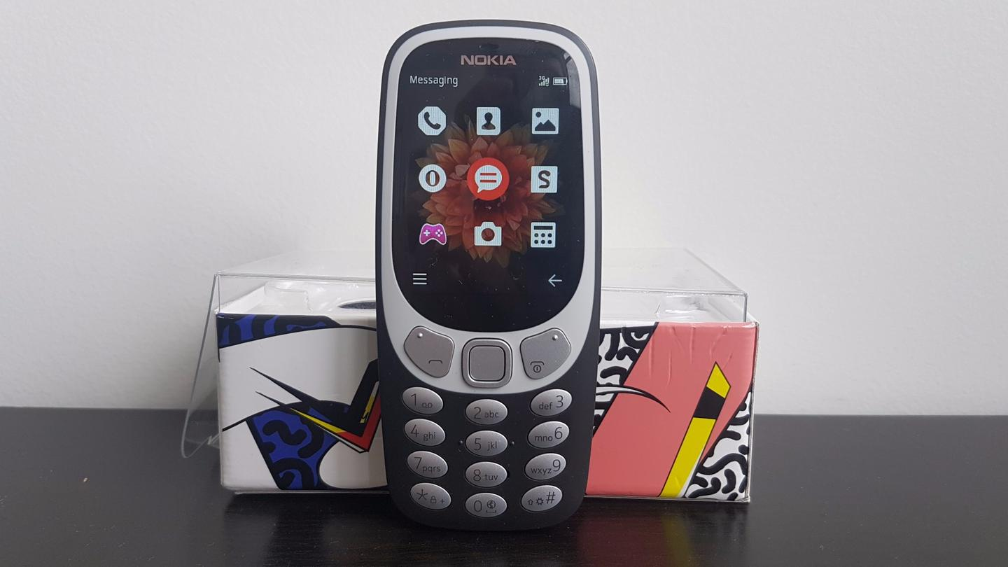 New Atlas reviews the new Nokia 3310, a bare-bones phone dripping in early 2000snostalgia