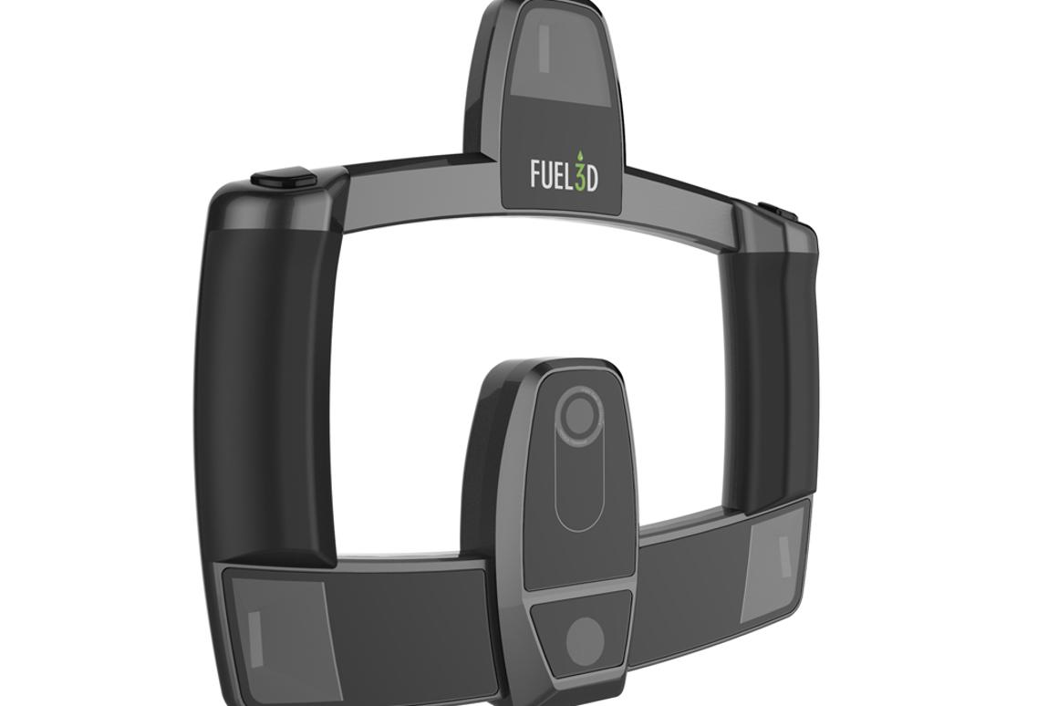 Fuel3D has released the first images of its 3D scanner