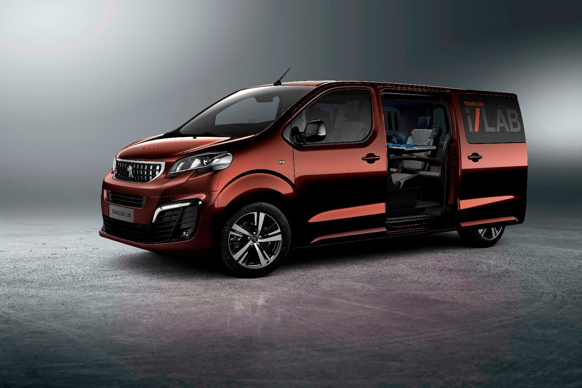 The Peugeot Traveller i-Lab is a concept of what business shuttles could be