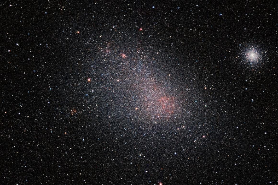 VISTA image of the Small Magellanic Cloud