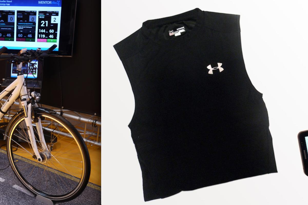 The FitnessSHIRT and MENTORbike team up