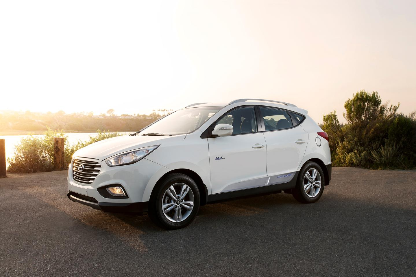 The Tucson Fuel Cell has performance comparable to an electric car