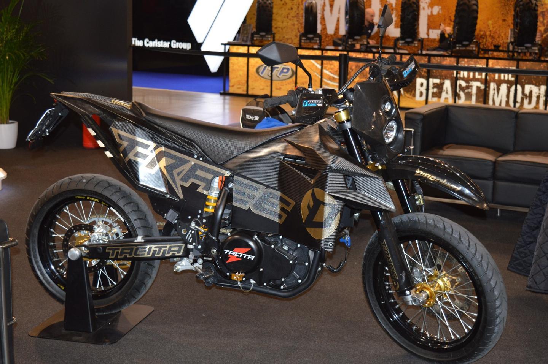 Tacita Announces T-Race-M and Diabolika Electric Supermoto