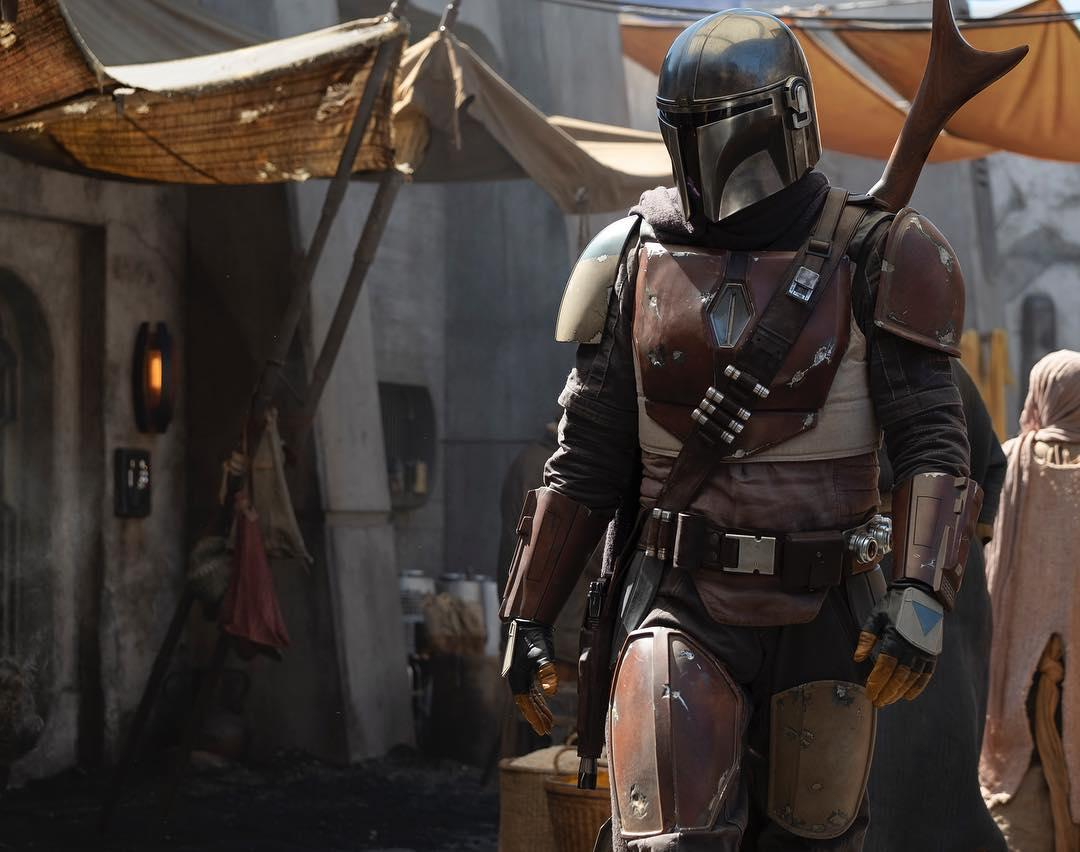 A tease from Mandalorian creator Jon Favreau on Instagram suggesting the Boba Fett-like nature of the new Star Wars series