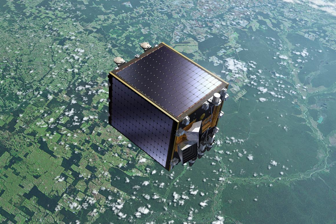 The ESA's Proba-V satellite (Image: ESA)