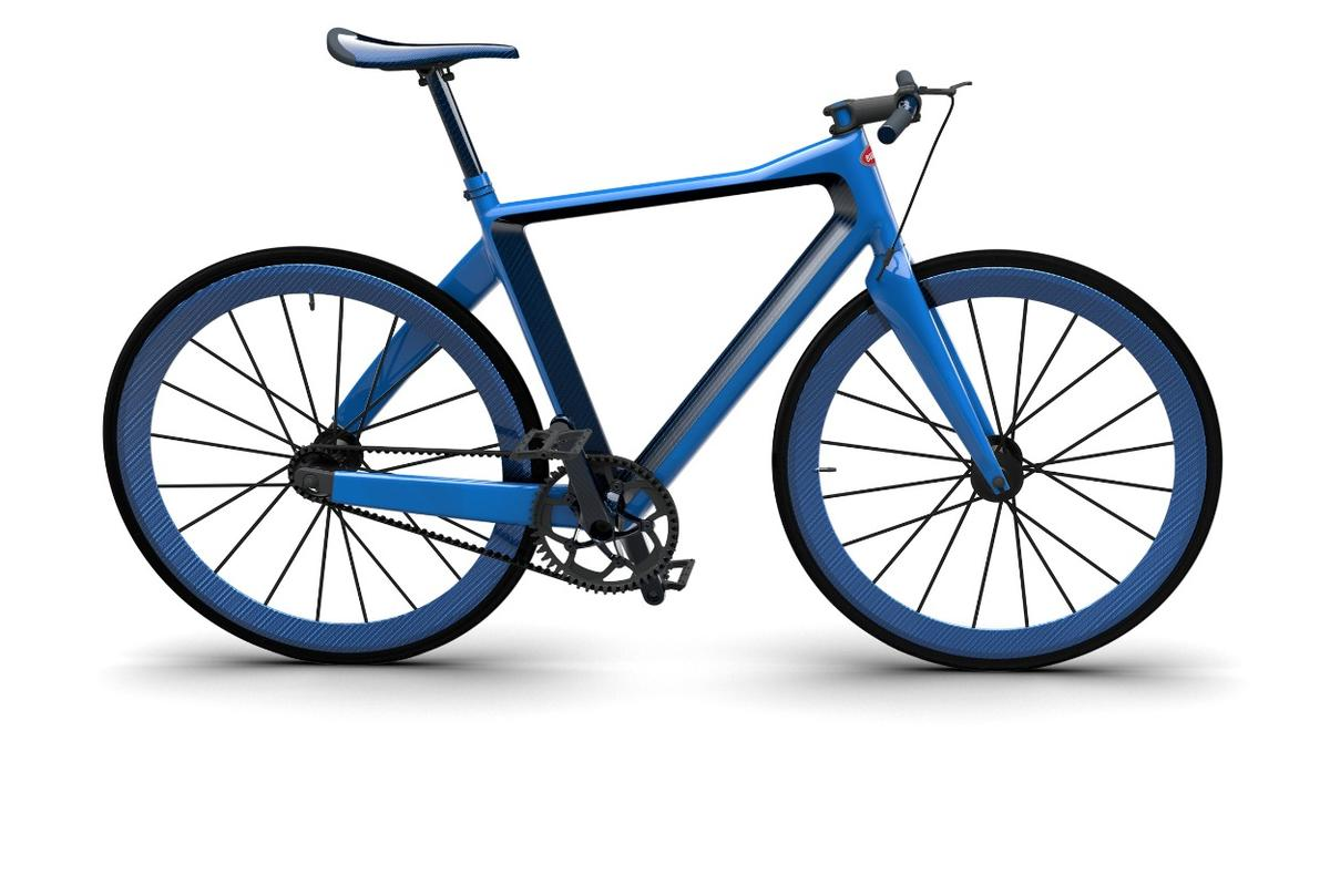 The PGBugatti Bike is lightweight and very, very expensive