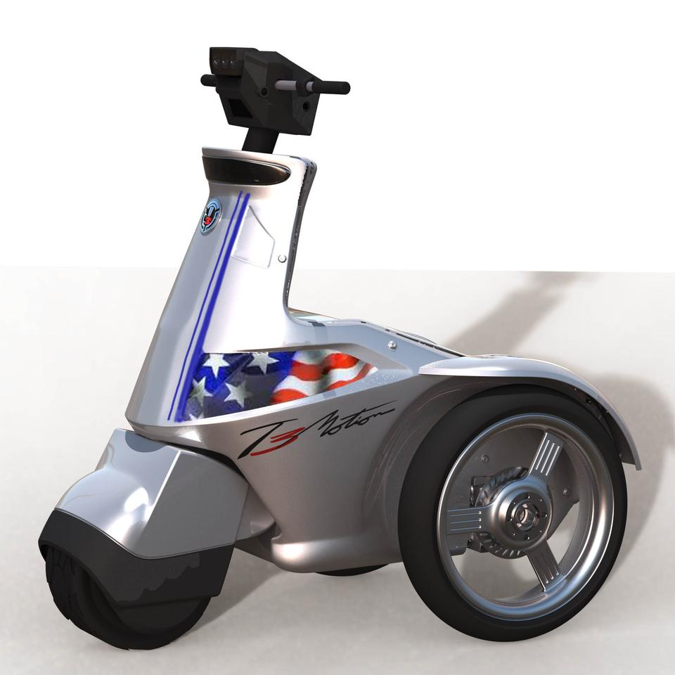 The new T3 Power Sport with custom American Flag paint job