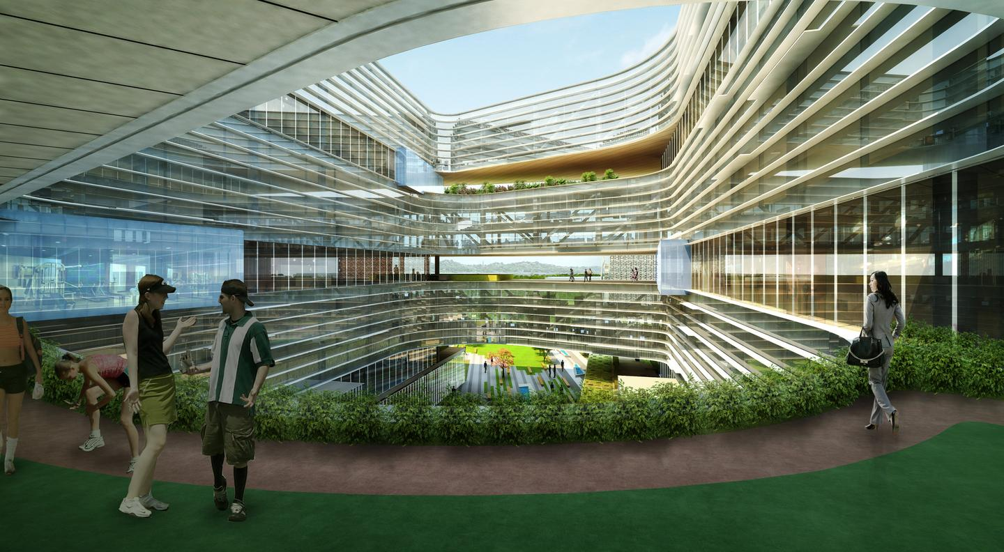 NBBJ is aiming for eventual Gold LEED certification (Image: NBBJ)