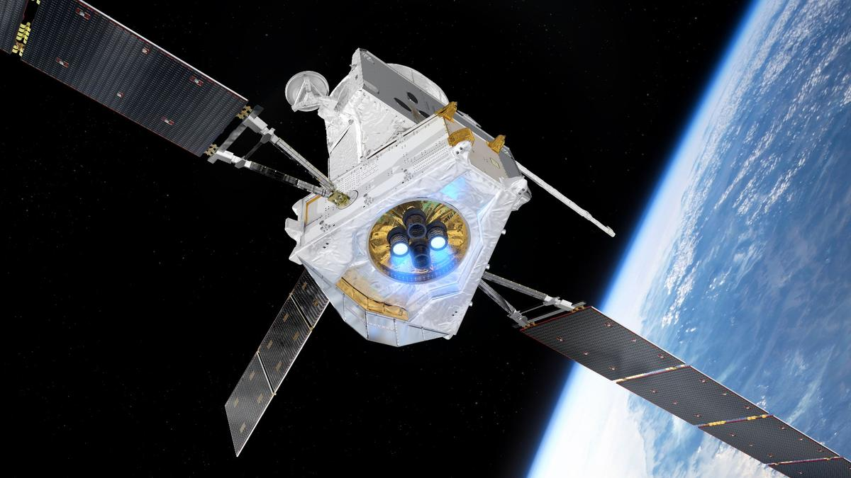 BepiColombo passing Earth
