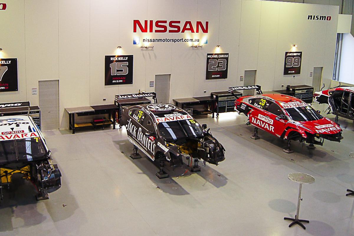 Inside Nissan Motorsports Australia's HQ – what does it take to make a successful auto racing team?