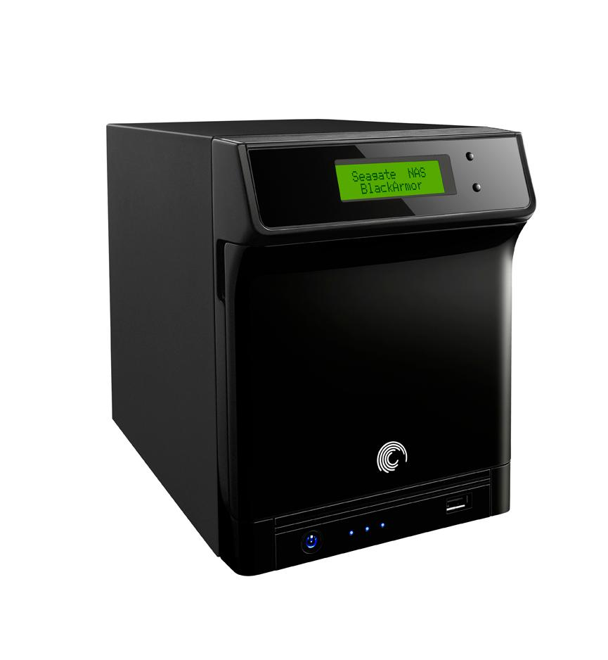 The 12TB BlackArmor NAS 440 network storage serve from Seagate