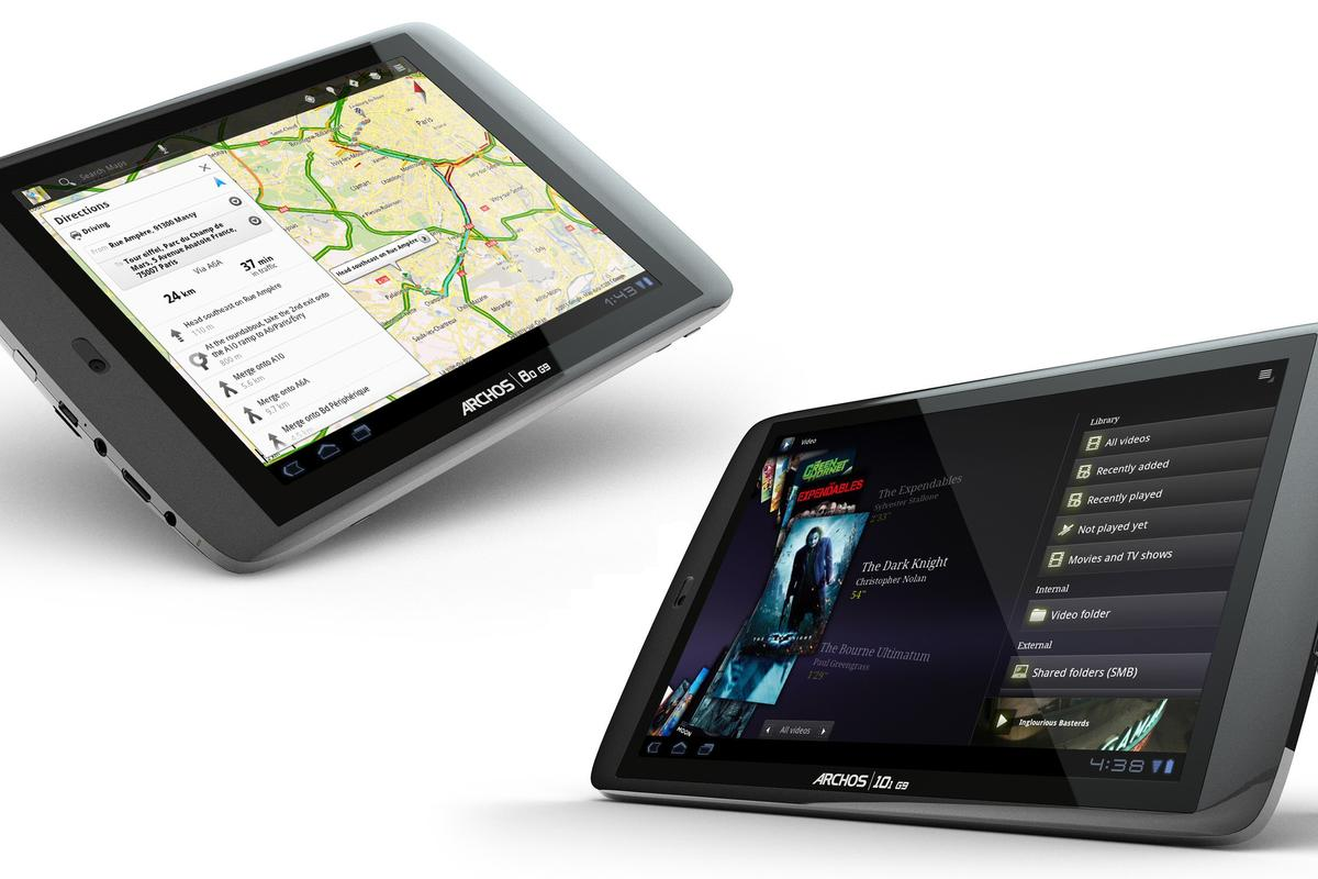 ARCHOS has announced September availability for the first of its new G9 Android tablets, with the rest following in October