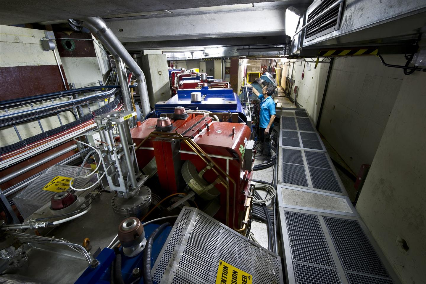 CERN's antiproton decelerator, which was used to trap the antihydrogen atoms (Photo: Maximilien Brice)