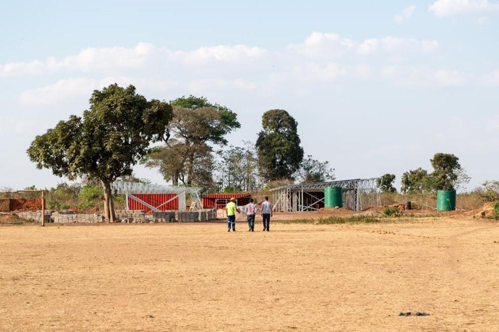 The school was constructed by Johannesburg-based firm Architecture For A Change (Photo: Architecture for a change)