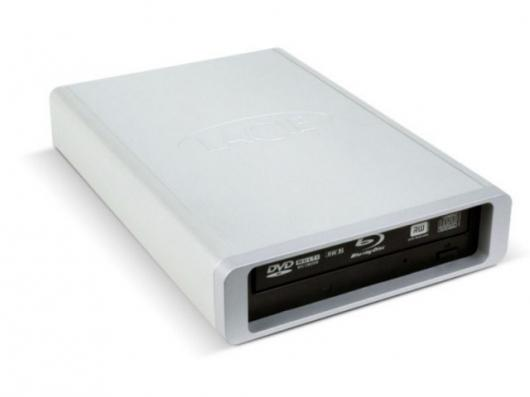 The LaCie d2 Blu-ray drive