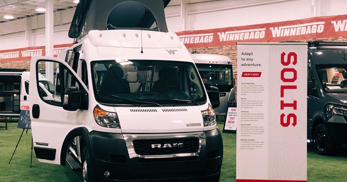 Winnebago's new off-grid camper van serves up adaptable adventure