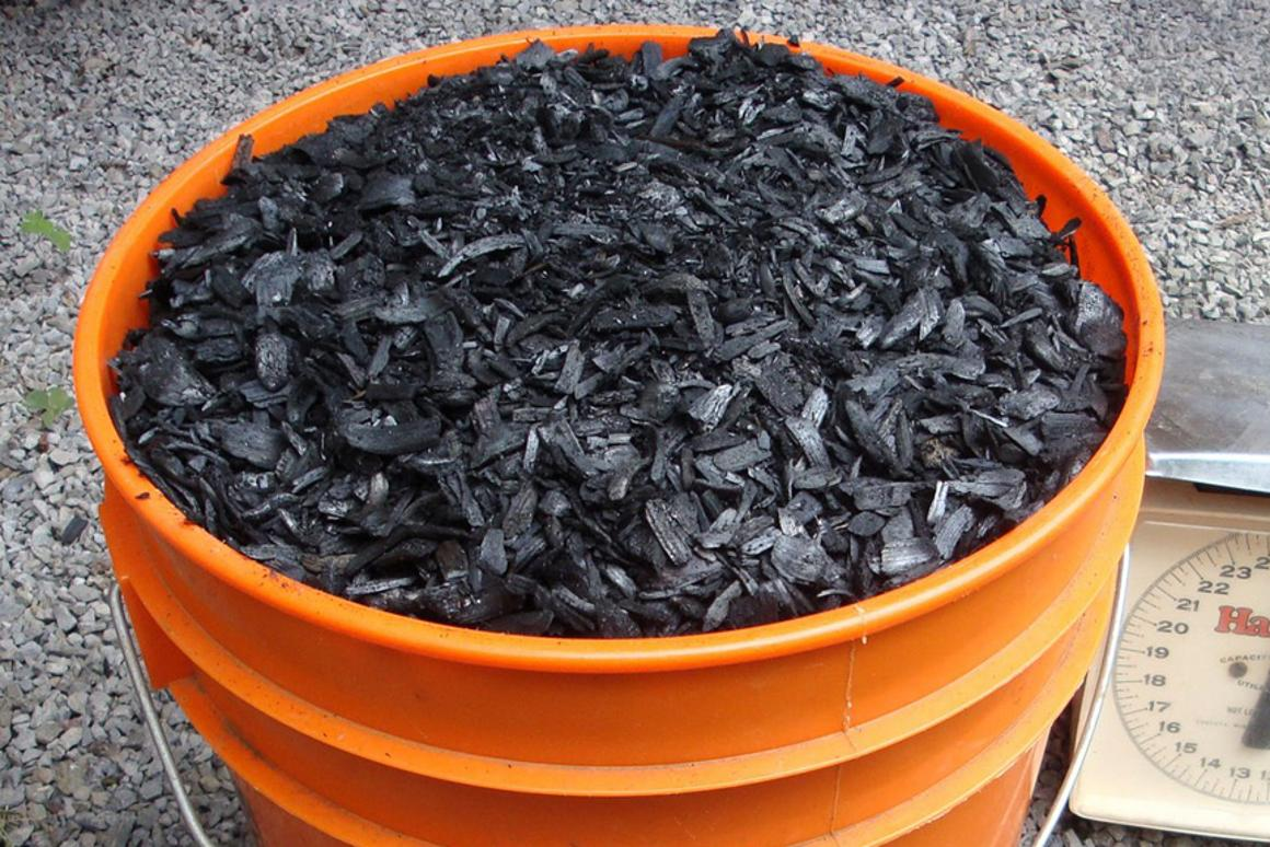 Biochar – a charcoal created by pyrolysis could offset 12 percent of human greenhouse gas emissions (Image: bdiscoe)