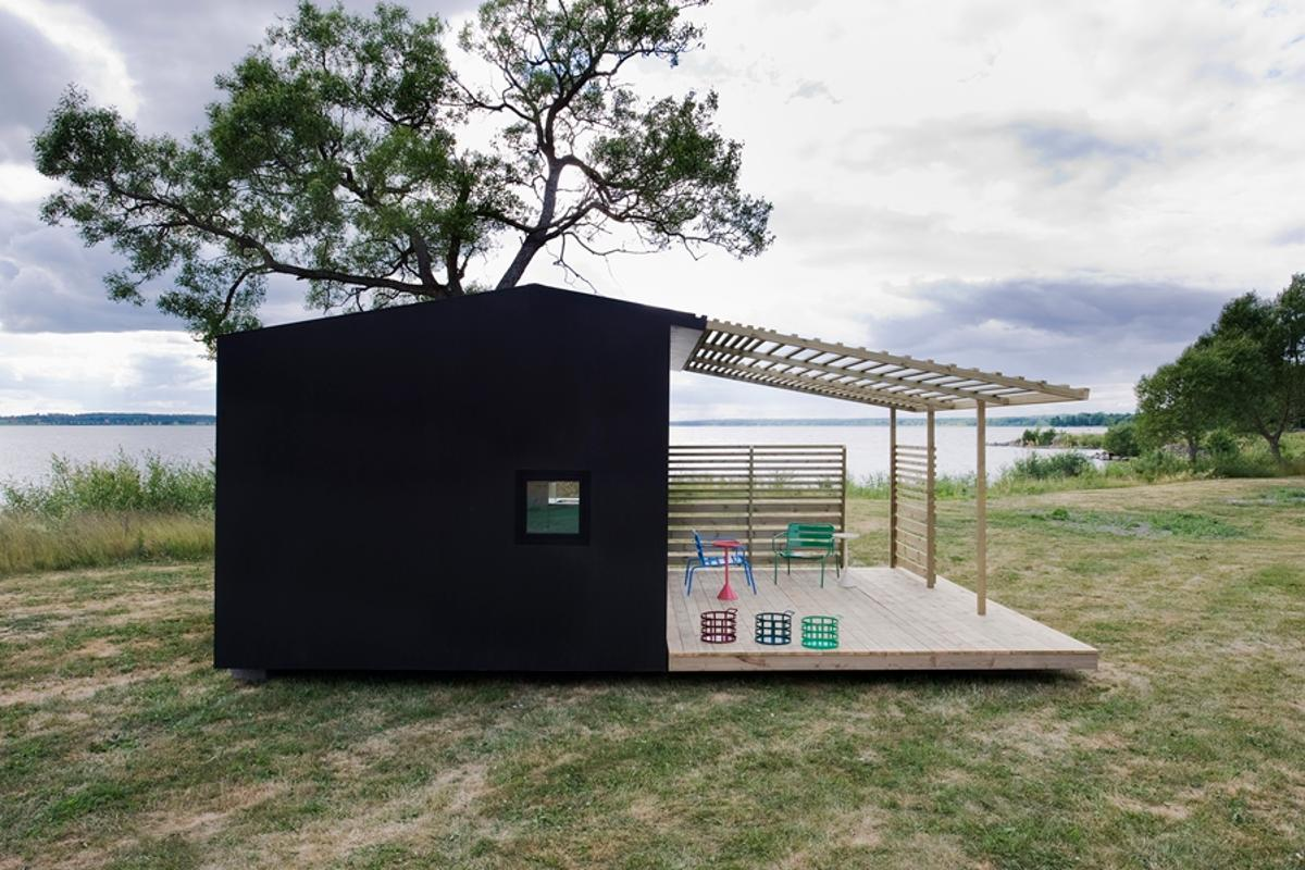 The Mini House is a flat-packed house that can be constructed in a matter of days (Photo: Andy Liffner)