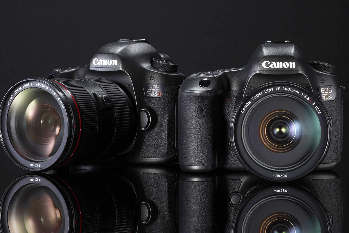 The new Canon EOS 5DS and 5DS R feature 50.6-megapixel full frame sensors