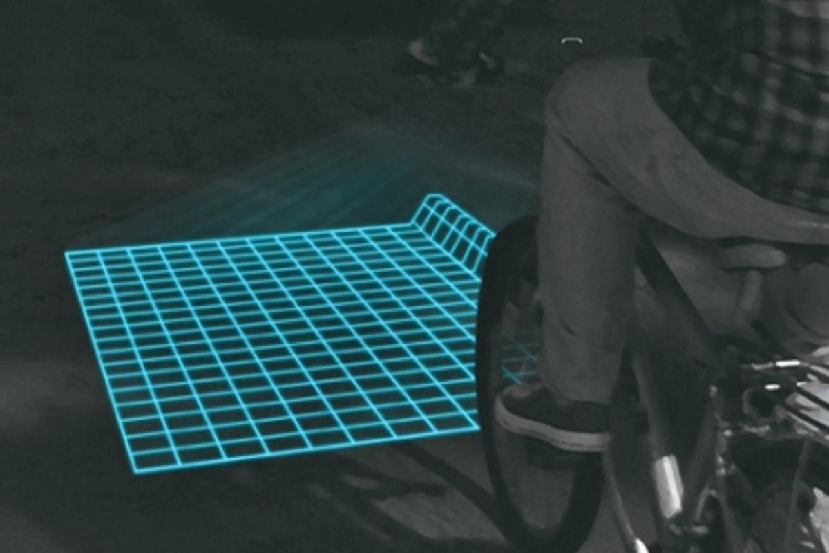 Lumigrids aims to make cycling at night that little bit less perilous