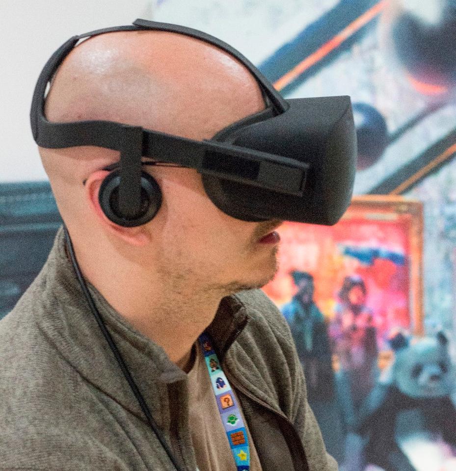 The consumer-facing Oculus Rift
