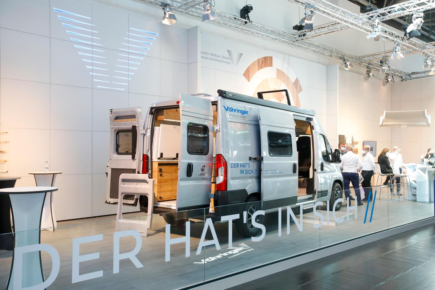 Vöhringer shows the ConceptCamper 2021 at the 2020 Düsseldorf Caravan Salon