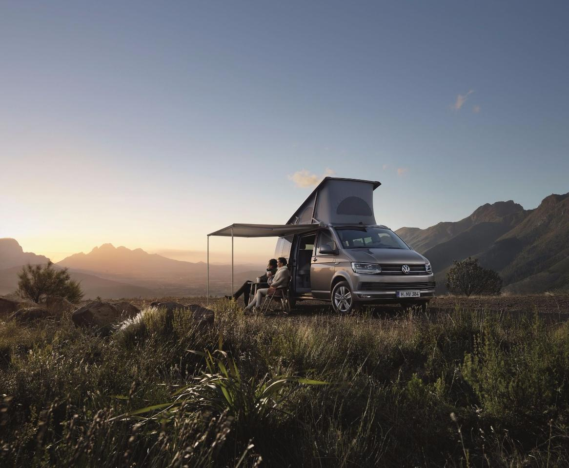 The California is the latest version of VW's factory-built camper van