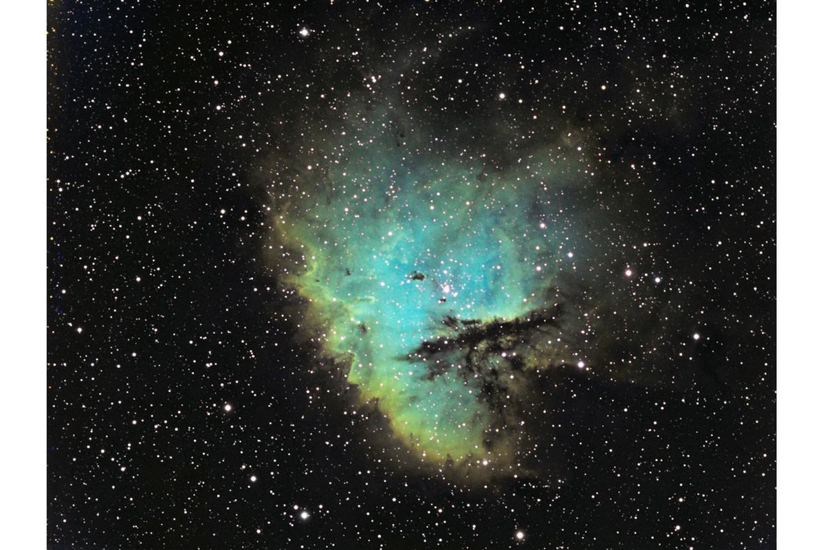 Pacman Nebula taken with an SBIG ST-8300M (photo: David Morrow/SBIG)