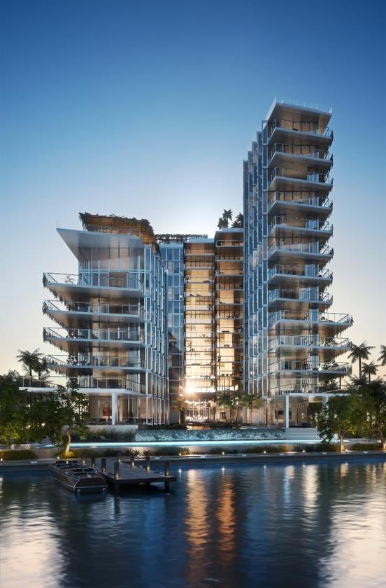Monad Terrace is located in Miami's South Beach Bay area