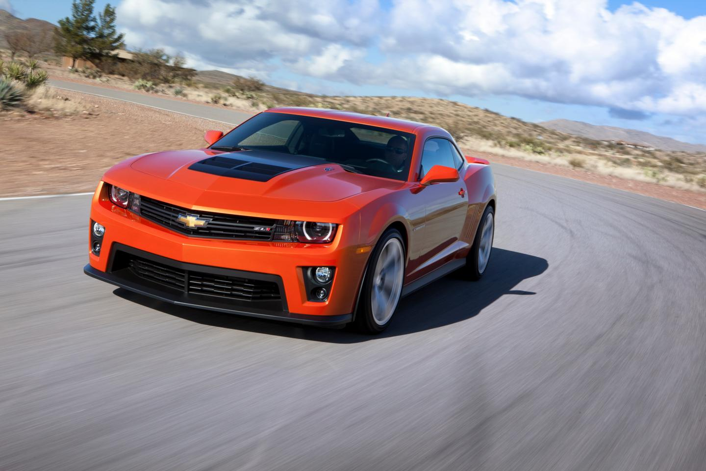 The Camaro ZL1 is the most powerful production Camaro ever