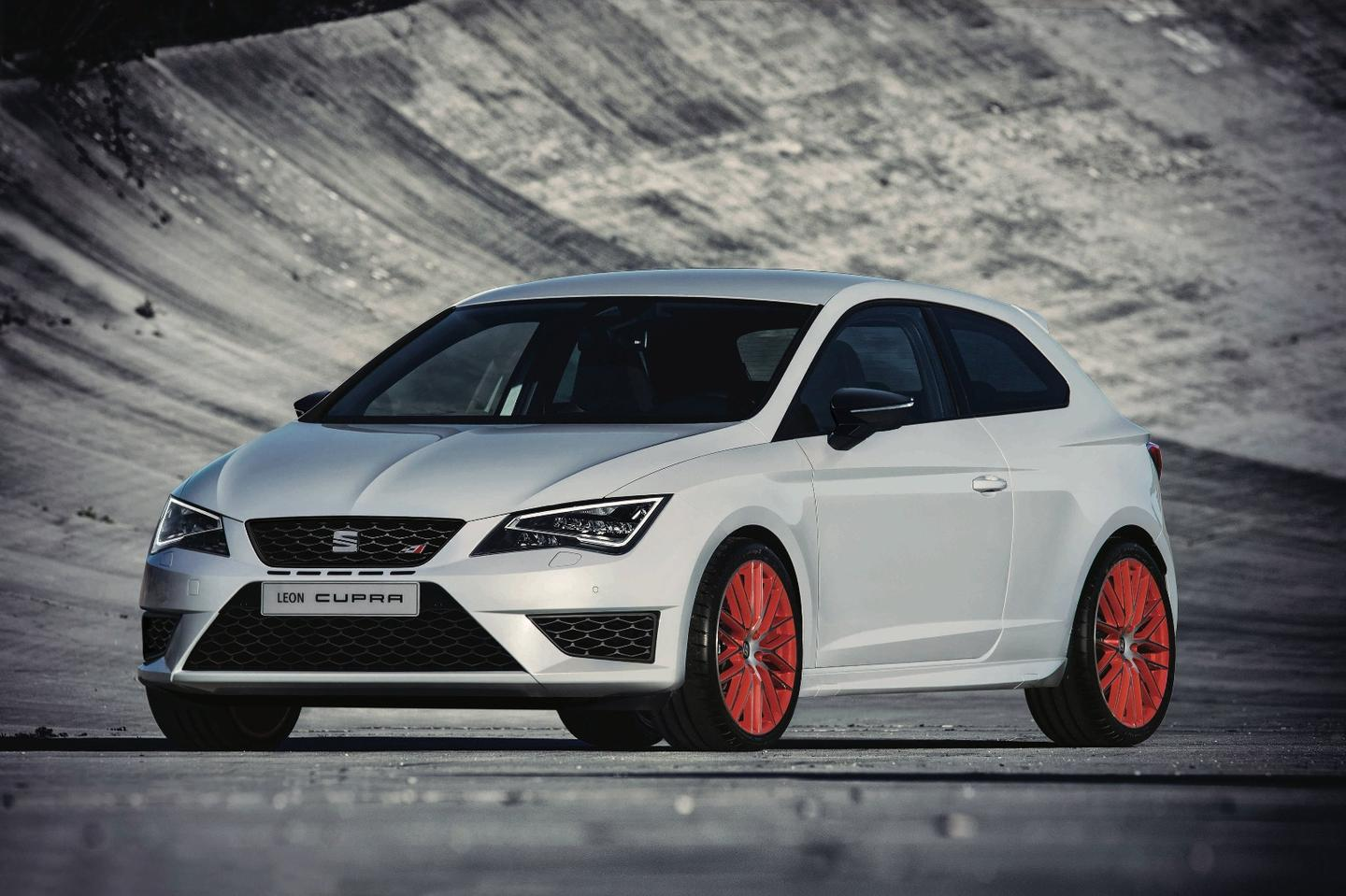 The Seat Leon Cupra SUB8 package comes in fifth on the list