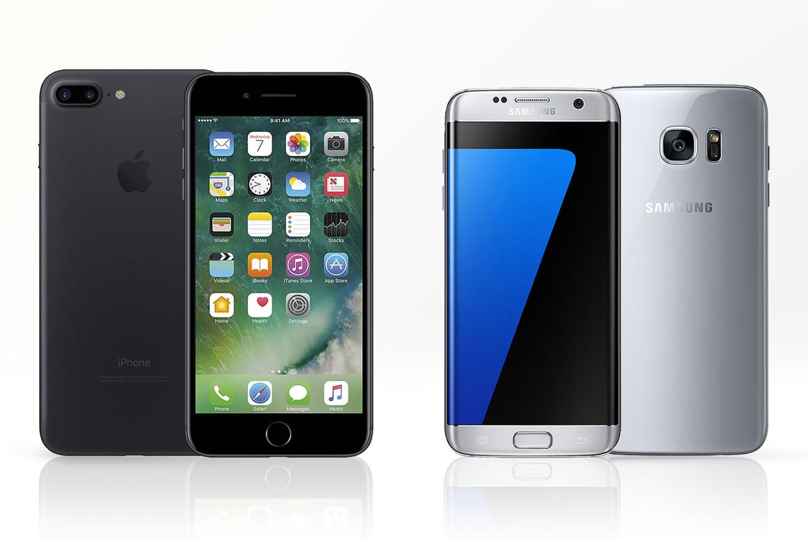 Comparing the iPhone 7 Plus and the Samsung Galaxy S7 edge